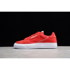 Adidas Continental Vulc Red White EF3525 36-44