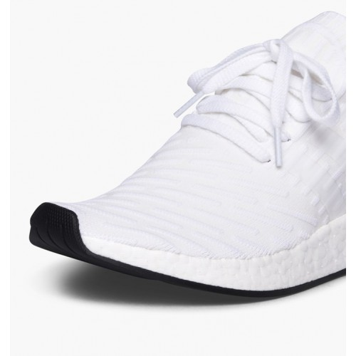 detailed look 21963 03858 adidas NMD R2 PK White Core Black White BY3015
