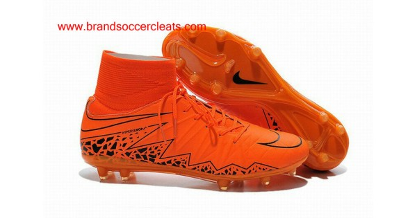 the latest e5dd6 096a3 FG Nike hypervenom 2 phantom premium orange black Football Boots Outlet  Store