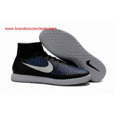 new product 7370f 91cf9 IC Nike magistax proximo black white blue indoor football shoes