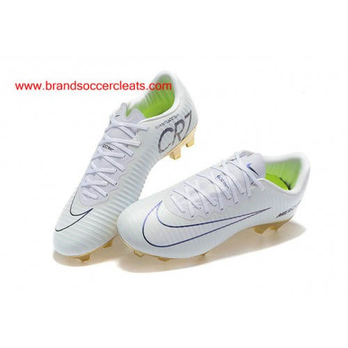 313a99f3f ... FG Nike mercurial vapor cr7 white gold vitorias xi Football Boots On  Sale ...