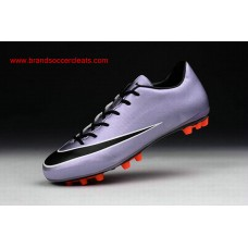 AG Nike 2016 for women mercurial victory v silver black white artificial-grass football shoes Outlets
