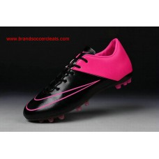 AG Nike 2016 for women mercurial victory v black pink artificial-grass football shoes Arrival