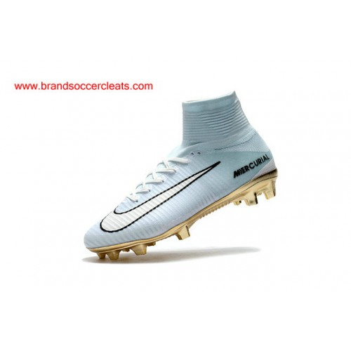 FG Nike 2017 women s mercurial superfly cr7 white gold vitorias flyknit acc  Football Boots Outlets 8132942c74