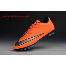 AG Nike 2016 women's mercurial victory v red silver black artificial-grass Football Boots